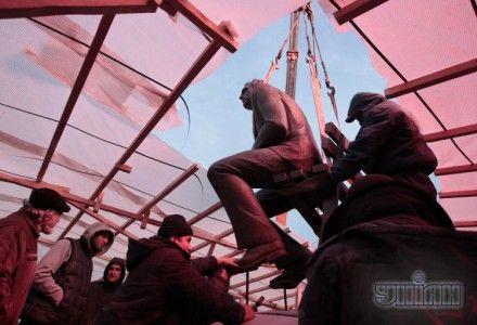 Памятник Лобановскому перенесли