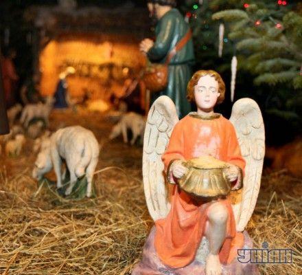 Ночью будут праздновать Рождество