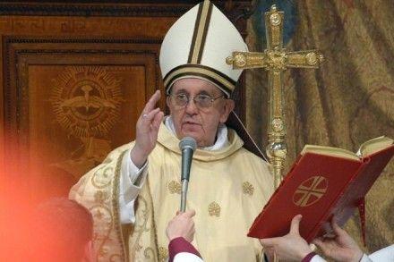 Папа Франциск Фото metronews.ru