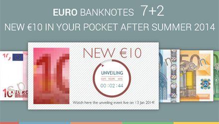 В течение следующих полутора лет планируется обновить все банкноты евро