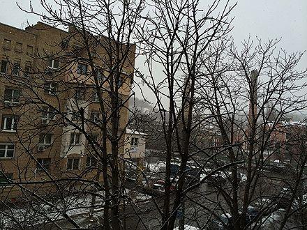 Старый новый год начался снегом