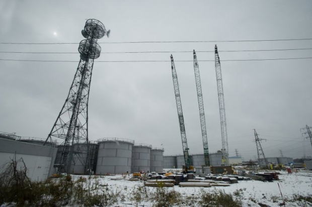 Территория атомной станции