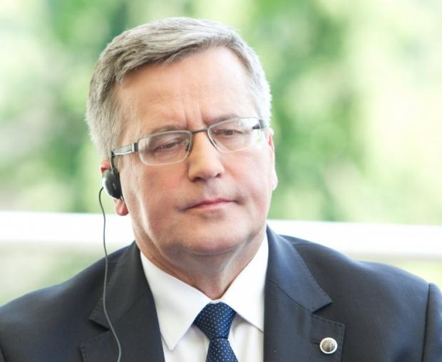 Bronisław Komorowski believes Ukraine has two weeks to find way to solve crisis