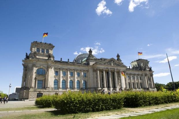 Здание Бундестага Федеративной Республики Германия