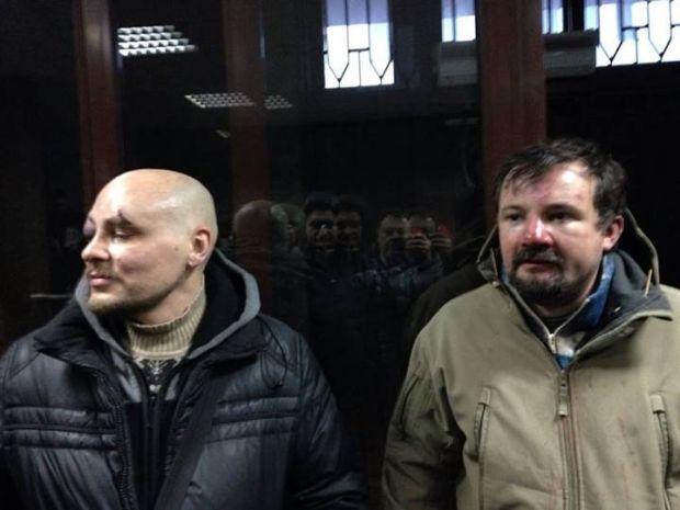 Избитые Беркутом журналисты Радио Свобода