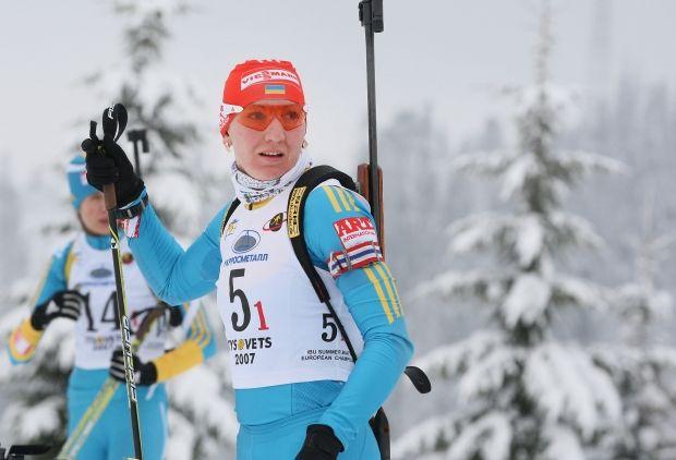 Елена Пидгрушная заняла 16-е место в индивидуальной гонке / biathlon.com.ua