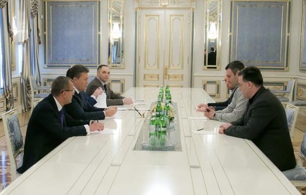 встреча, оппозиция, Янукович