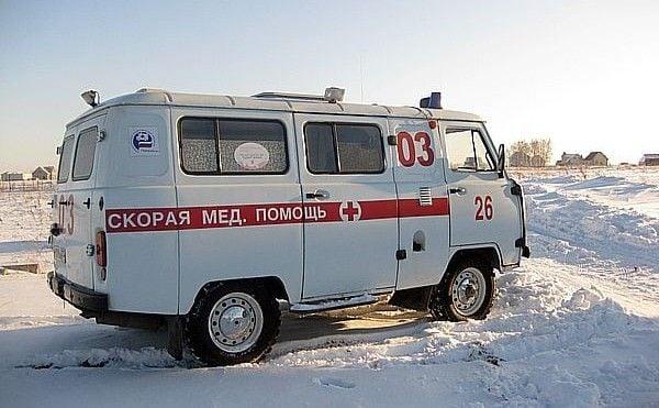 Скорая помощь в снежных заносах /Фото: ipc-dzhankoy.org
