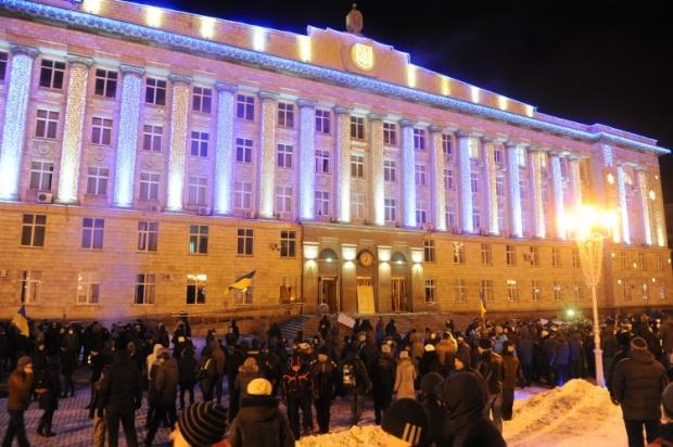 У Черкасах заборонили збиратися на Соборній площі / УНІАН