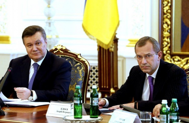 Yanukovych appoints Klyuev chief of staff of AP