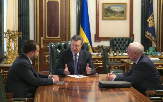 Yanukovych assures that citizens of foreign states, who are wanted by international police, are taking part at Maidan