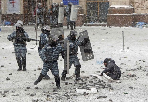 По делу о массовом убийстве на Майдане не арестованы беркутовцы из Донецка