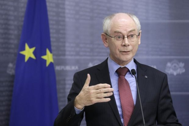 Rompuy to take part in inauguration of newly-elected president of Ukraine/ Photo: REUTERS
