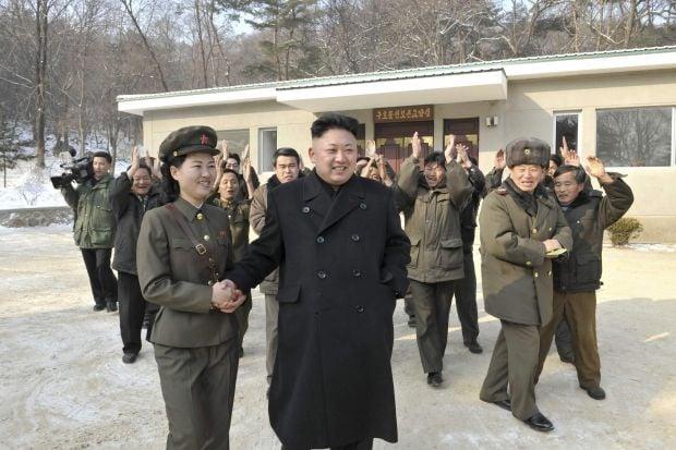 Ким Чен Ын, лидер КНДР / Reuters
