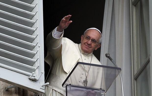 Франциск помолився за Україну / Reuters