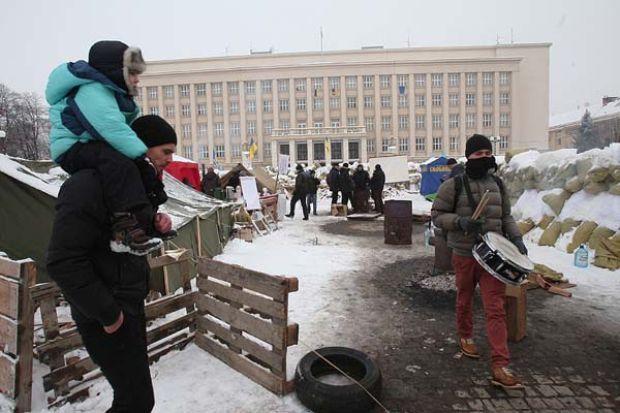 В Ужгороде продолжается митинг / Ужгород.ин