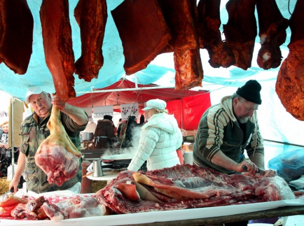 Ввоз свинины из Польши запрещен