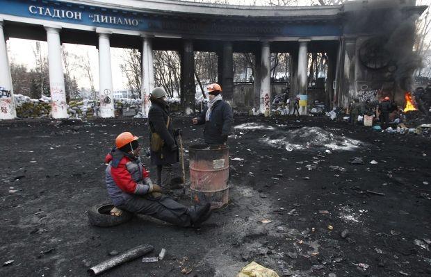 Ущерб, нанесенный Киеву во время акций протеста, оценивают в 20 млн грн. / REUTERS
