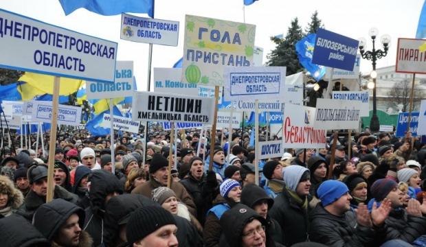 Партия регионов создает всеукраинский гражданский союз