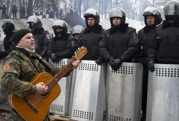 баррикады, грушевского, 28 января