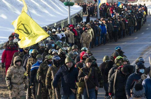 Кордон милиции остановил активистов на подходах к Раде - Цензор.НЕТ 8083
