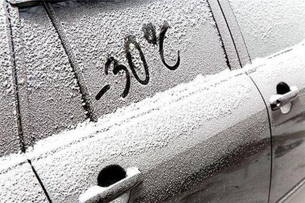 мороз холод зима / Фото : luganews.com