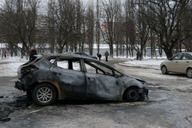 За минулу добу у Києві горіли 18 авто / forum.autoua.net