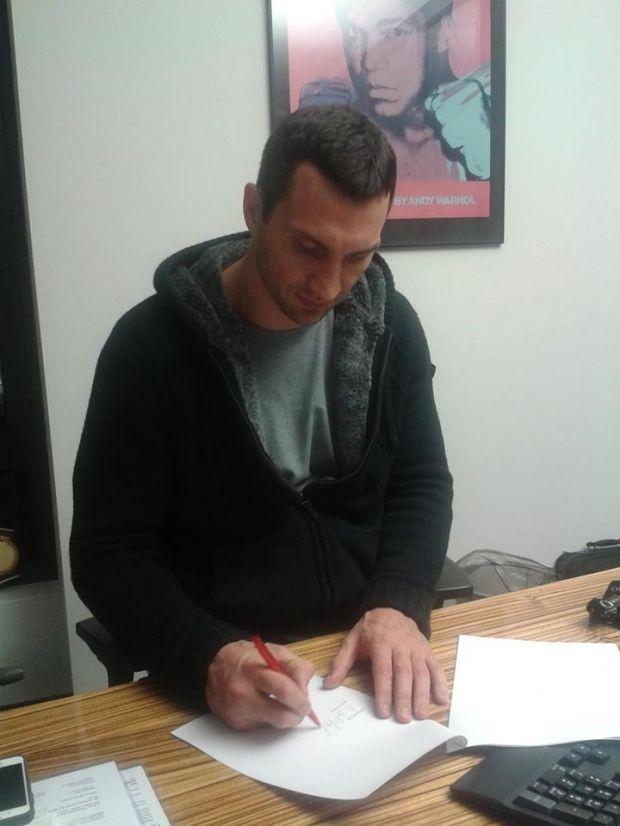 Владимир Кличко / facebook.com/VitaliWladimirKlitschko