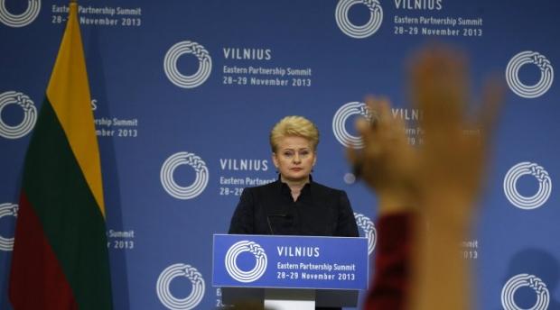 Даля Грибаускайте собирается баллотироваться на второй срок