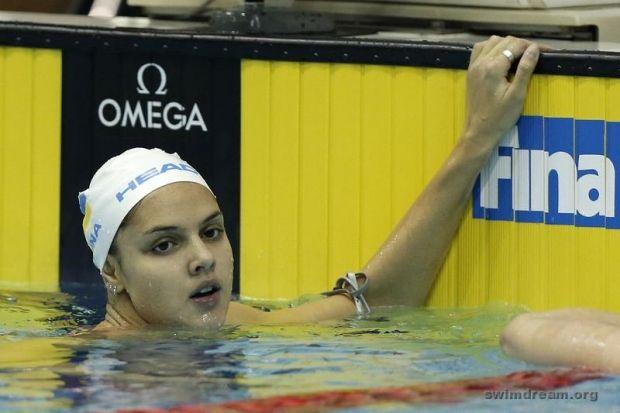 Дарина Зевина виграла повний комплект нагород / swimdream.org