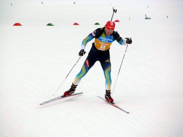 Мужская сборная Украины вошла в четверку сильнейших в эстафете этапа Кубка мира по биатлону