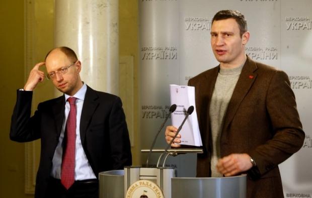 Кличко говорит, что Янукович не хочет принимать Конституцию-2004