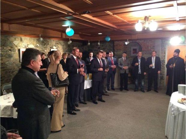 Посол Моцик приймає гостей. Фото: Vadym Guliuk