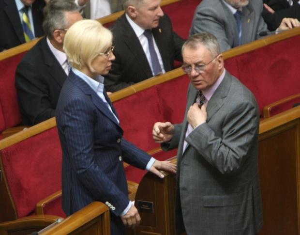 Людмила Денисова и Владимир Яворивский