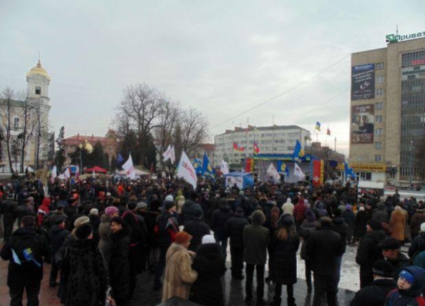 В Луцке потребовали отставки главы ОГА / volynpost.com