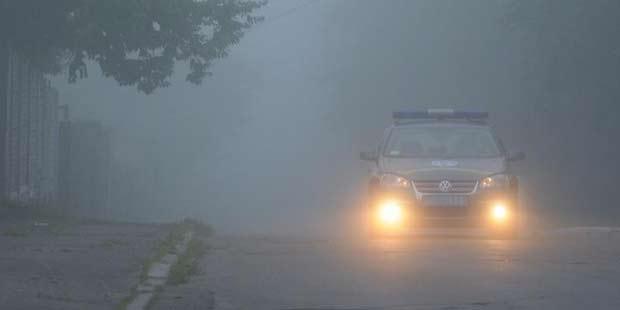 ГАИ предупреждает о плохой видимости на дорогах