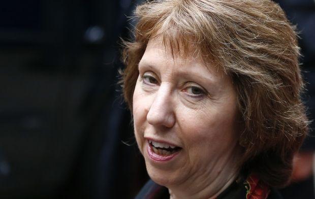 Ashton notes necessity to support peaceful plan of Poroshenko/REUTERS