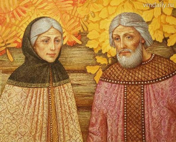 Пётр и Феврония канонизированы православной церковью в 1547 году.