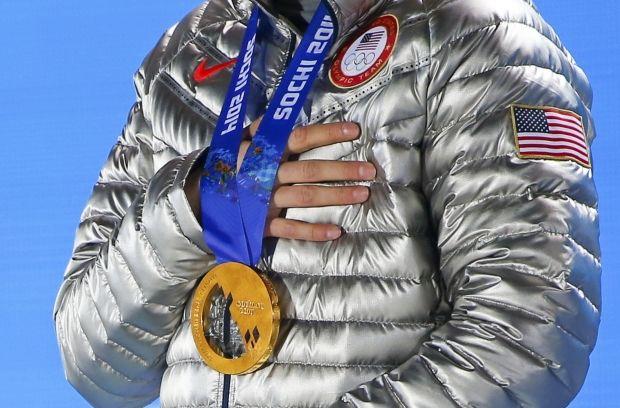 Золотая медаль Сочи-2014 / Reuters