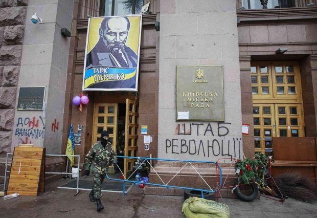Міліція заявляє, що активісти знову захопили будівлю КМДА / REUTERS