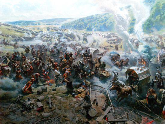 Панорама битвы