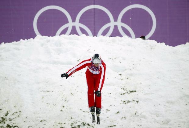 Соревнований фристайлистов в Сочи / Reuters