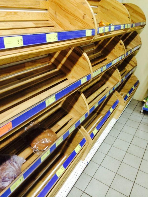 В столичных супермаркетах пустеют полки / Богдан Бородийчук