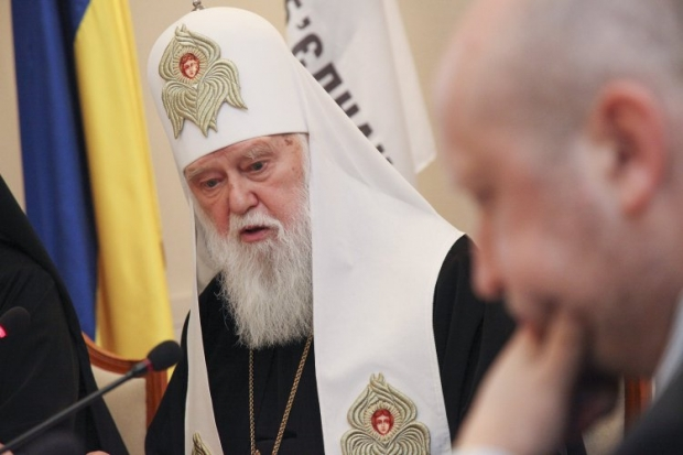 Filaret is leading the drive for his church to become a single local Ukrainian church / Photo from UNIAN