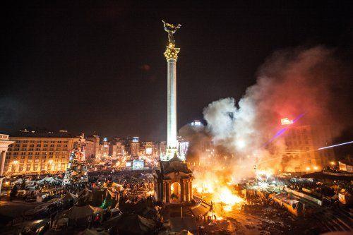 Штурм Майдана в Киеве, 18 февраля. Фото УНИАН