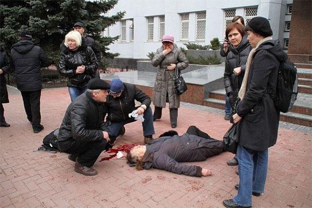 СБУ заявило, що готове оплатити лікування потерпілих людей / Фото Дениса Кораблева