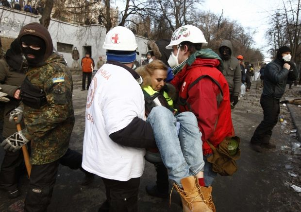 беспорядки, журналист / Reuters