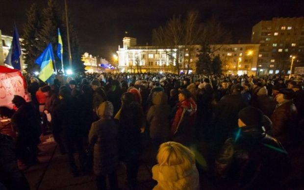 В Житомире опять захватили ОГА / zhitomir.info