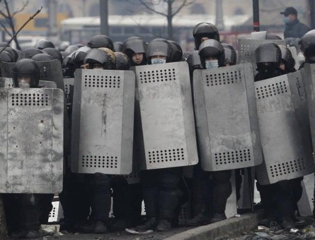 В МВД назвали имена погибших силовиков