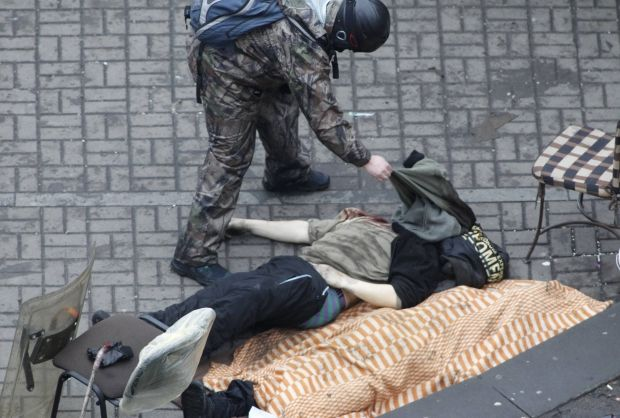 One more death at Maidan / REUTERS